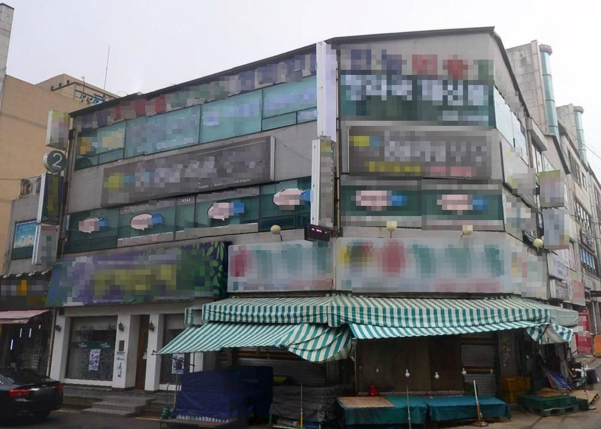 인천 역세권 건물. 인천꼬마빌딩